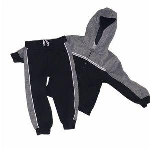 Calvin Klein Jeans toddler sweatsuit, 3T, 2pc